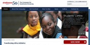The Strathmore University Campaign